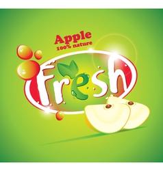 apple Fresh vector image