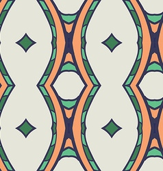Abstract seamless ornament patternkaleidoscope vector