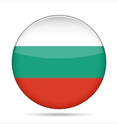 Button with flag of bulgaria vector