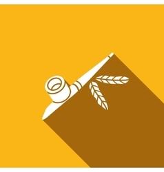 Calumet icon vector image
