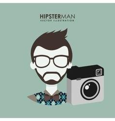 retro style photo vector image