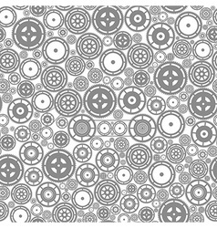 Seamless cogwheel pattern vector
