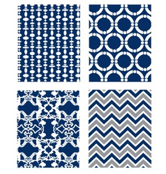Backgrounds set pattern wallpaper vector