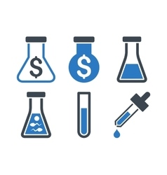 Alchemy flat icons vector