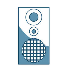 Audio speaker the musical equipment volume vector