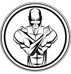 Bodybuilder Fitness Symbol vector image