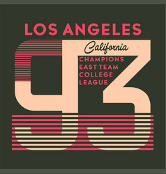 California champions vector