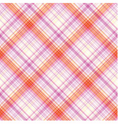 fabric texture seamless tartan pattern background vector image vector image
