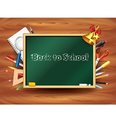 school board tools background vector image
