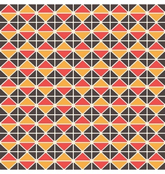 Triangluar retro pattern vector image vector image