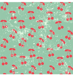 Cherry pattern vector