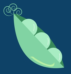 Peas in a pod vector