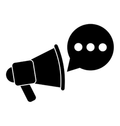 Computer conversation communication bubble speech vector