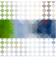 Green and blue defocused background vector