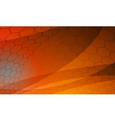 honeycomb tiles theme vector image vector image