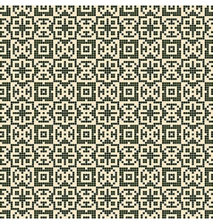 ornate geometry seamless pattern vector image vector image