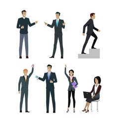 Set of people managers wishing to show good result vector