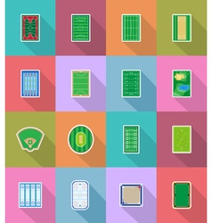sport flat icons 58 vector image vector image