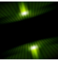 Technology green striped motion background vector image vector image