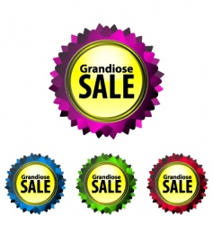 Grandiose sale vector