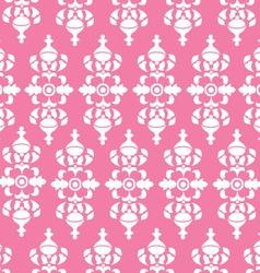 Vintage Pink Wallpaper vector image