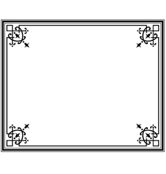 frame magasin 1 vector image