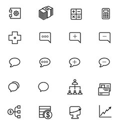 Ios and android icons 12 vector
