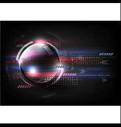 Technological global fast communication modern vector