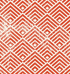 Vintage geometric seamless pattern repeat vector image vector image