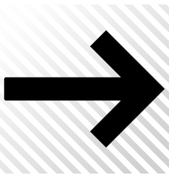 Right arrow icon vector