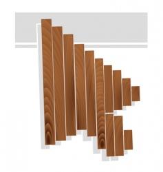 arrow cursor vector image
