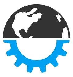 International industry icon vector