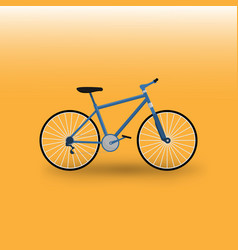 Moutain bike bicycle vector
