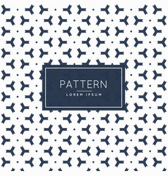 Pattern background with abstract three sided shape vector
