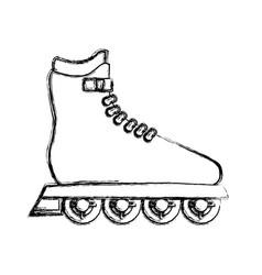 Sport skates isolated vector