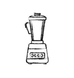 blender machine household appliance vector image