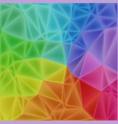 low poly art backgroun vector image