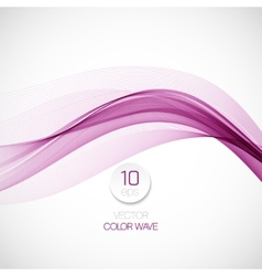 Smoke wave background vector