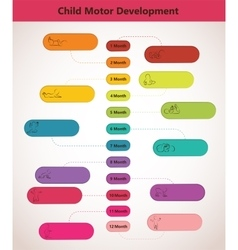 Children pyramid for infographic child vector