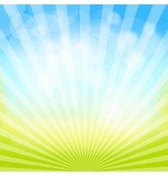 Abstract spring and summer background vector