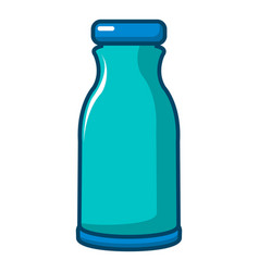 bottle shampoo icon cartoon style vector image
