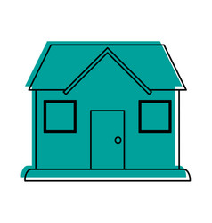 classic house or home icon image vector image vector image