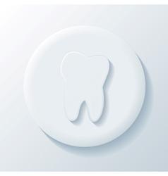 Medicine 3D Paper Icon vector image vector image