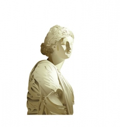 statue vector image vector image