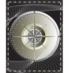 compass net vector image