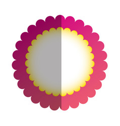 Beautiful flower ornament vector