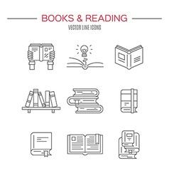 Book Club vector image vector image