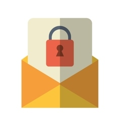 Email message security system technology vector