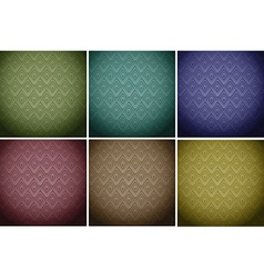 Wallpaper tiles in colours vector image
