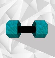 Gym equipment vector